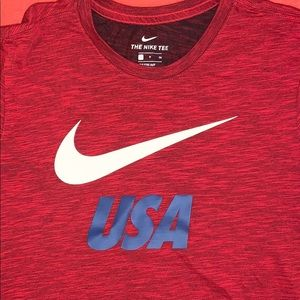 Nike USA dri fit T-shirt
